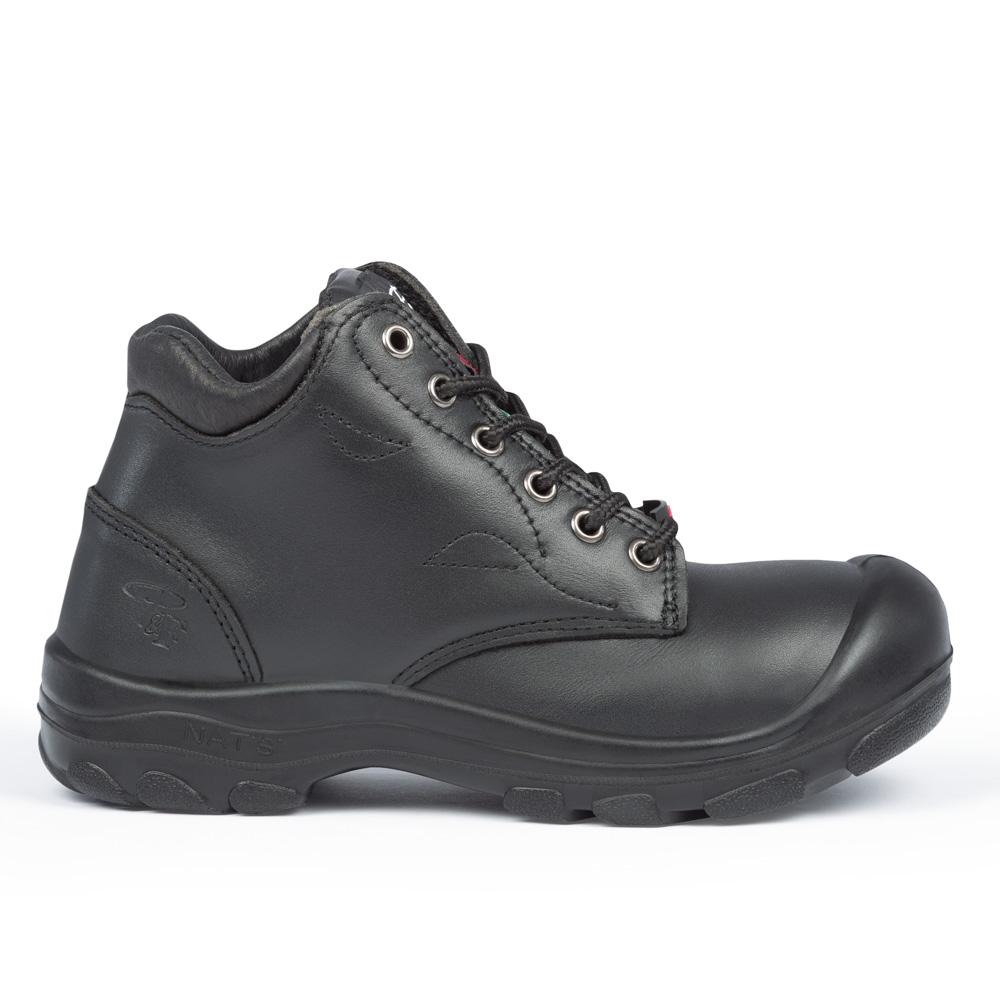 Steel Toe Work Boots For Women 6 Quot Height Model S559 Black
