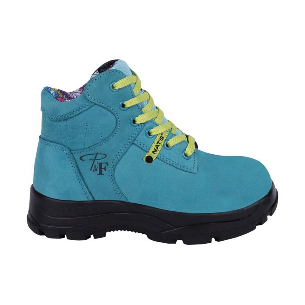 Turquoise women s steel toe work boots 4e1b30956c