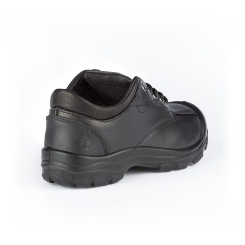 Women's steel toe safety shoes, black colour