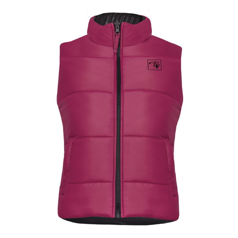 Insulated high density polyester vest – PF495