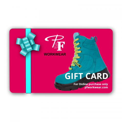 P&F Workwear Gift Card