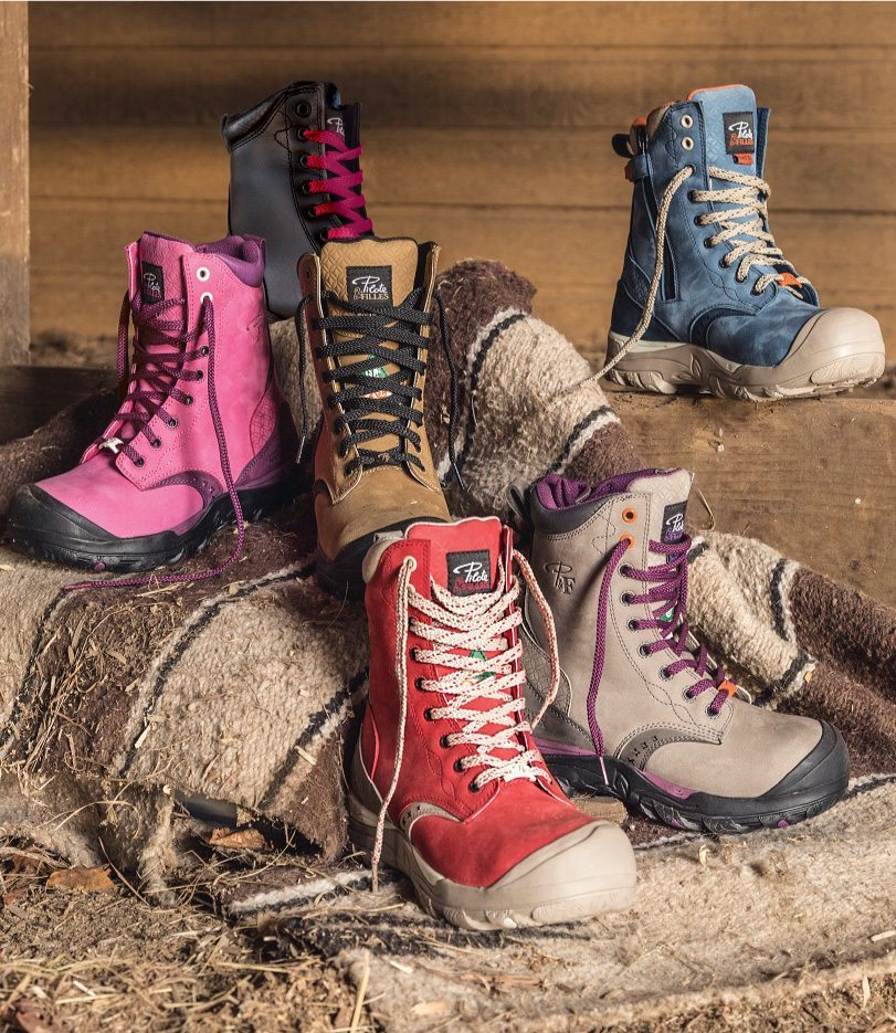 The Best Women S Waterproof Safety Work Boots P Amp F Workwear