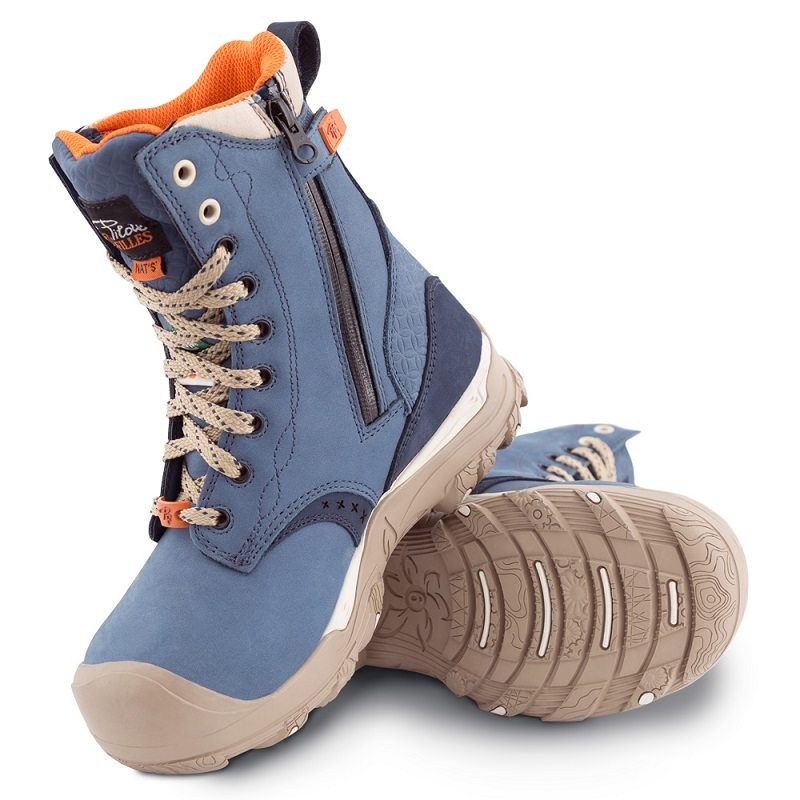 womens safety work boots and shoes p f workwear