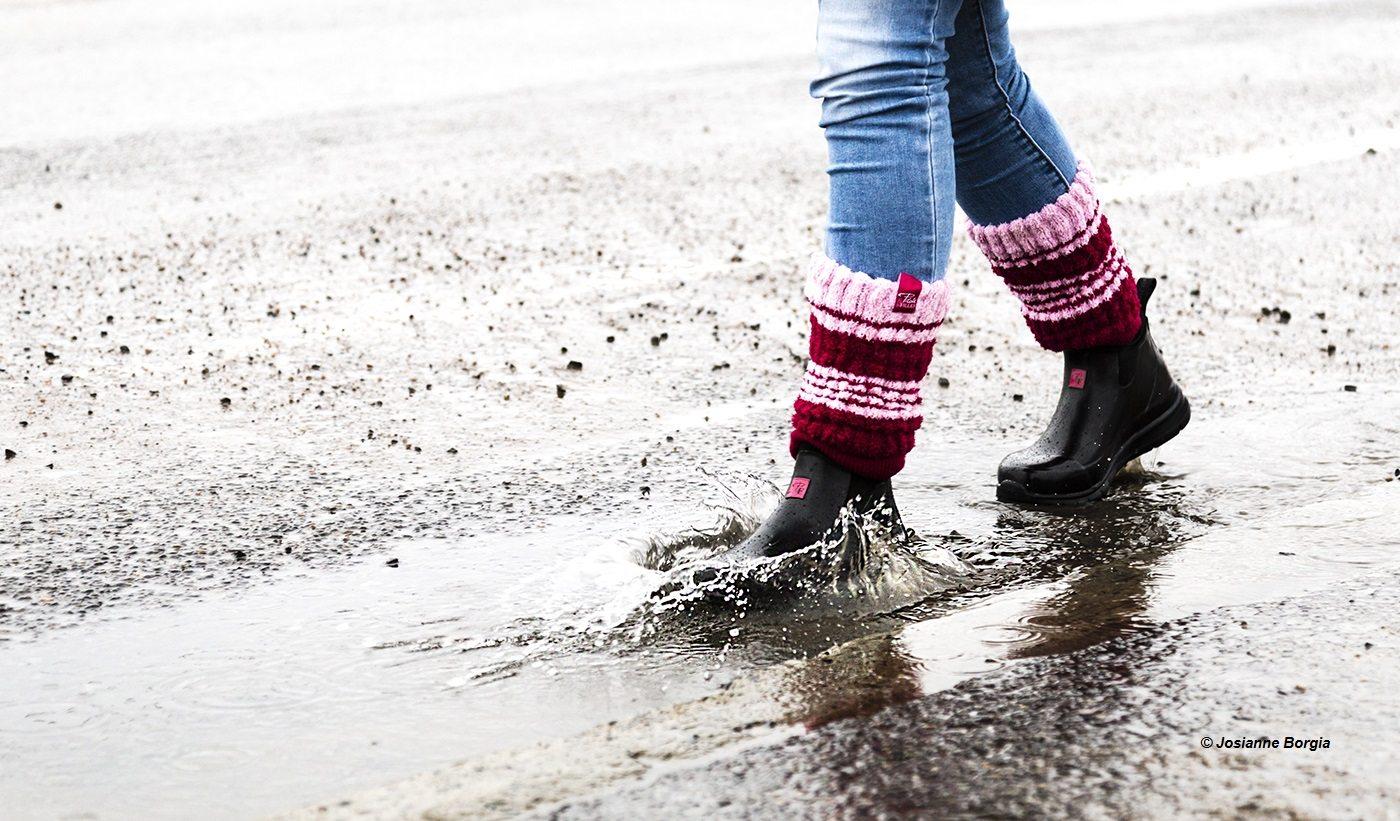 Woman rain boots