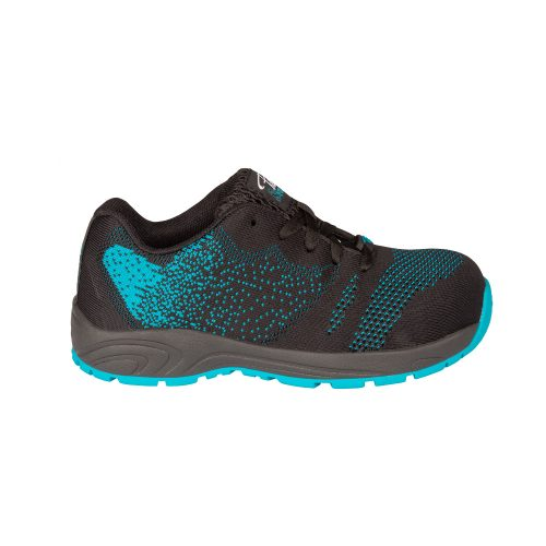 Steel toe safety shoes for women, Turquoise
