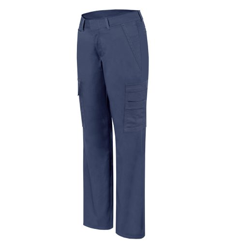 Blue Stretch cargo work pant for women – PF820